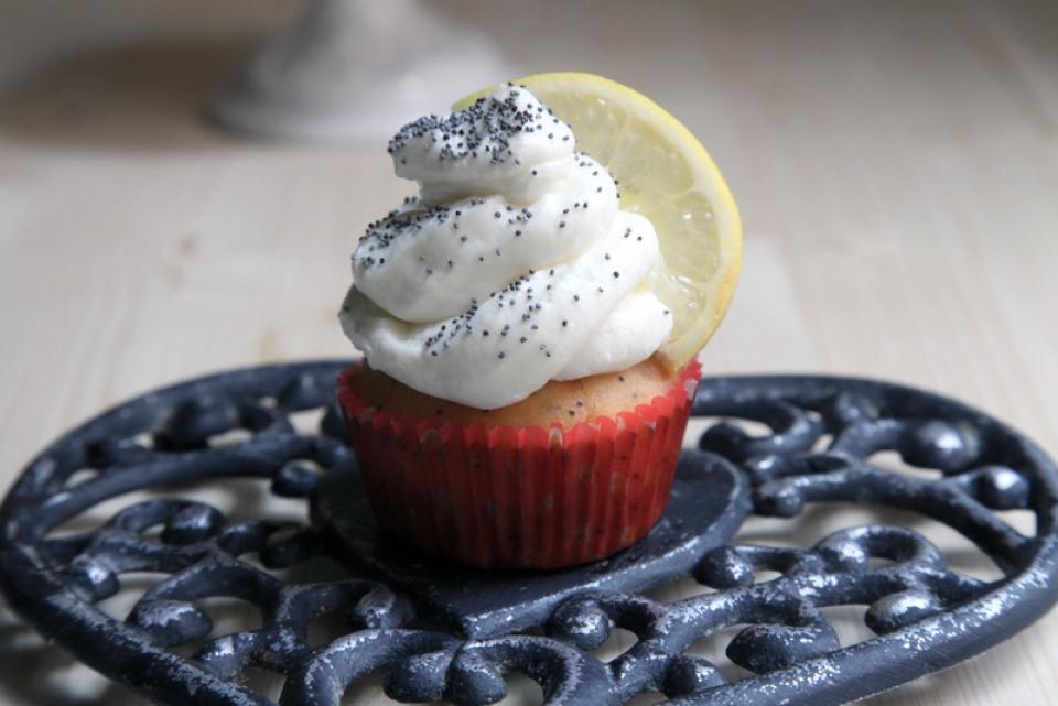 1082  960x720 ps pici e castagne cupcakes al limone e semi di papavero 3   Foto