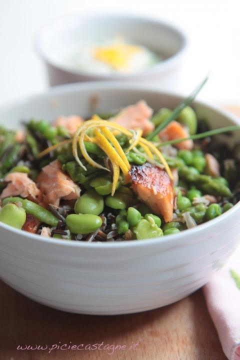 108  960x720 insalata riso nero6   Foto