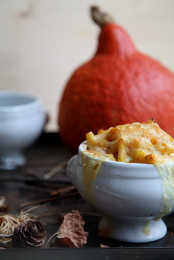 1175  600x pici e castagne pumpkin mac and cheese 3   Foto