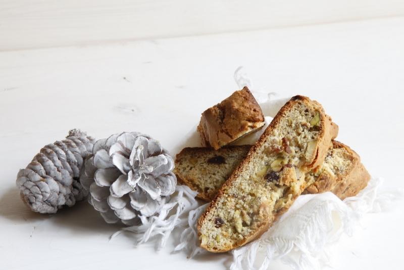 1465  800x pici e castagne cantucci con pistacchi e fragoline disidratate   Foto