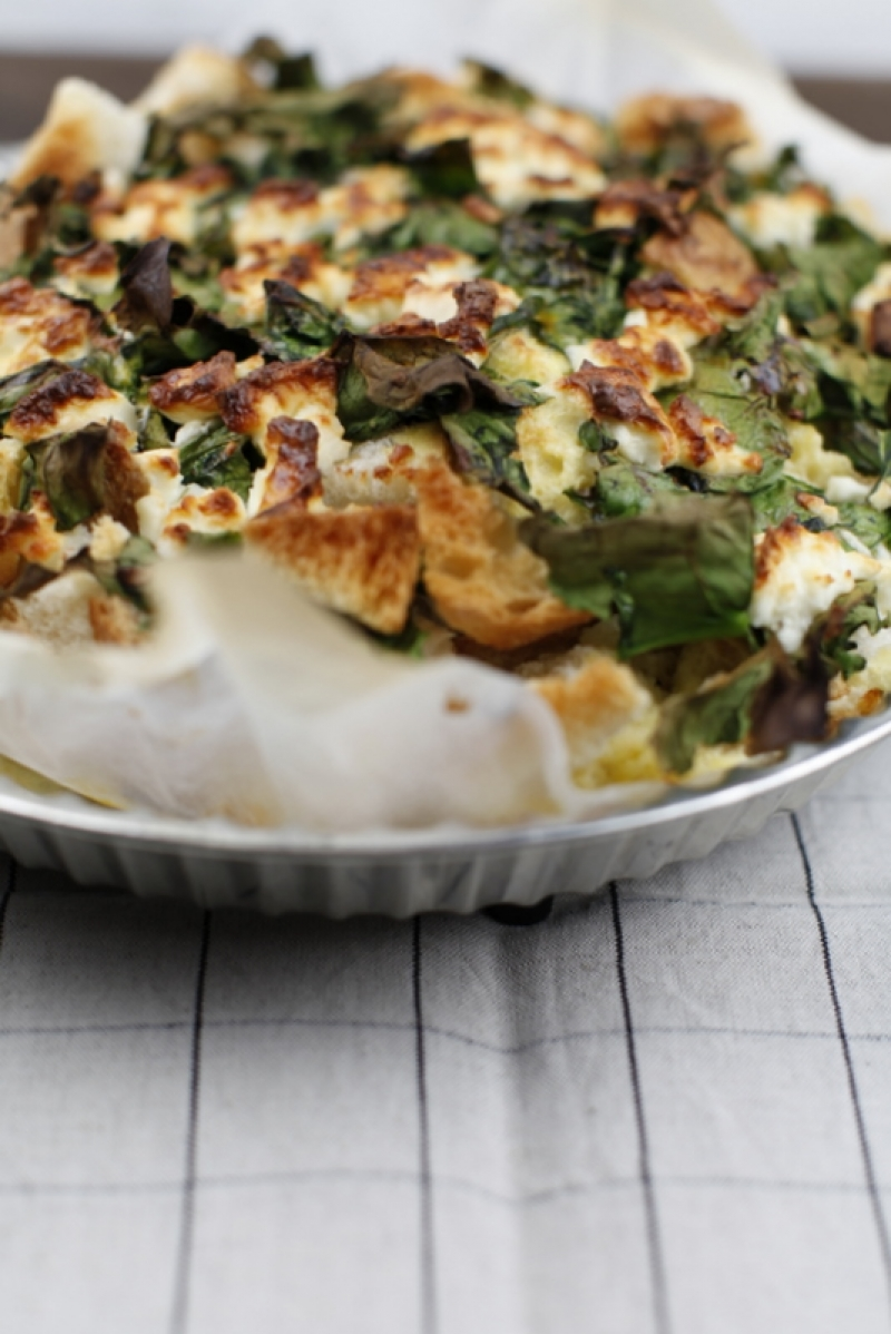 1699  800x pici e castagne spinach strata 2   Foto