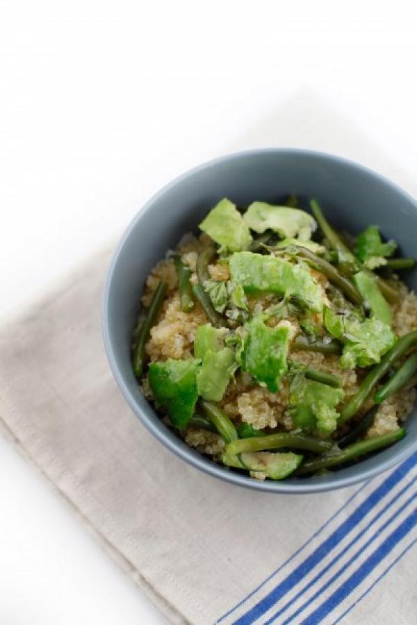 1865  600x pici e castagne insalata di quinoa fagiolini e avocado 2   Foto