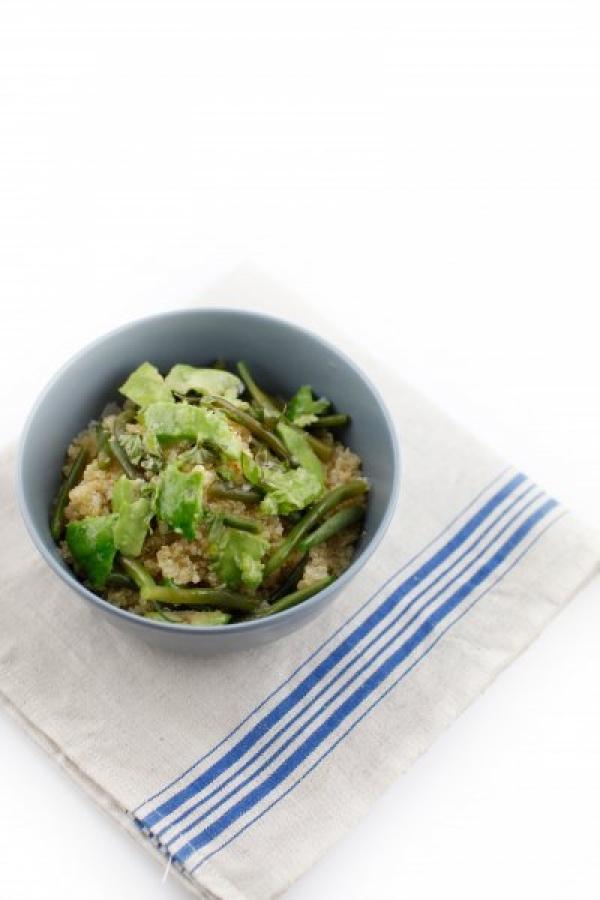 1866  600x pici e castagne insalata di quinoa fagiolini e avocado 3   Foto