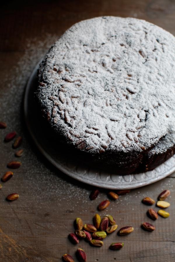 2032  600x pici e castagne pistachio cake 2   Foto