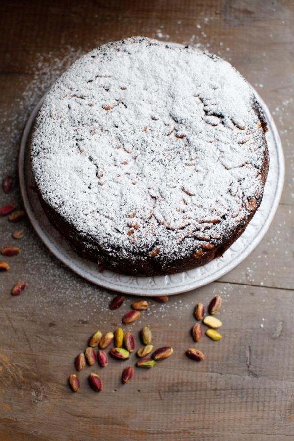 2034  600x pici e castagne pistachio cake 4   Foto