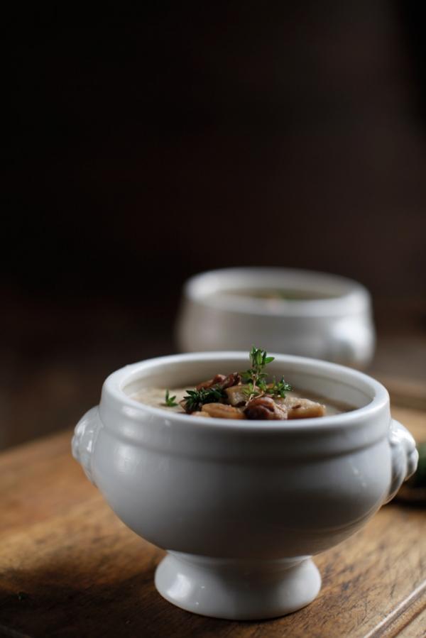 2267  600x pici e castagne zuppa di pane e funghi 2   Foto