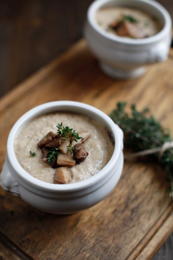 2268  600x pici e castagne zuppa di pane e funghi 3   Foto
