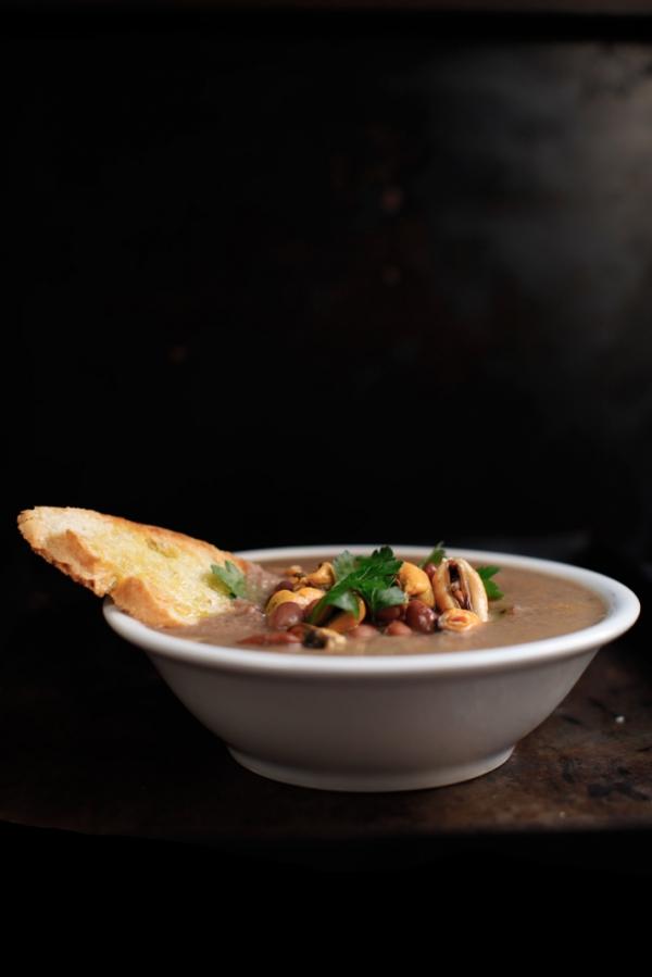 2272  600x pici e castagne zuppa d fagioli e cozze 3 0   Foto