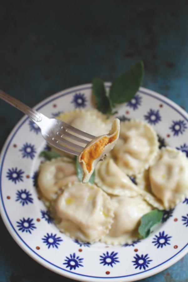 2773  600x pici e castagne tortelli zucca 2   Foto