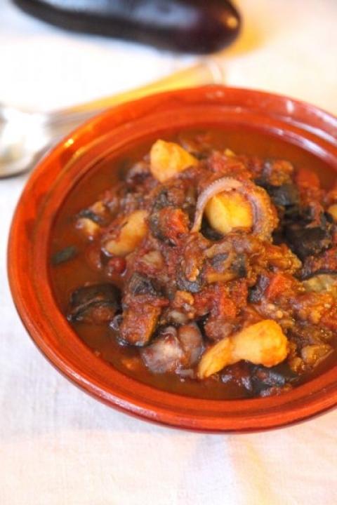 716  960x720 pici e castagne polpo melazane e patate 4 copia   Foto