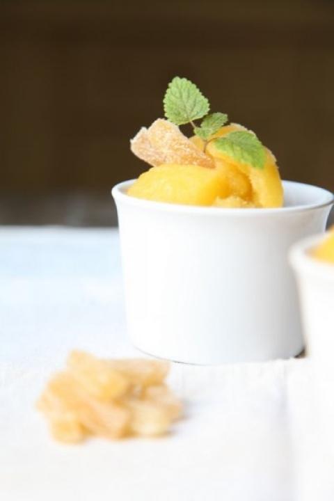 720  960x720 pici e castagne sorbetto all ananas e zenzero 5 copia   Foto