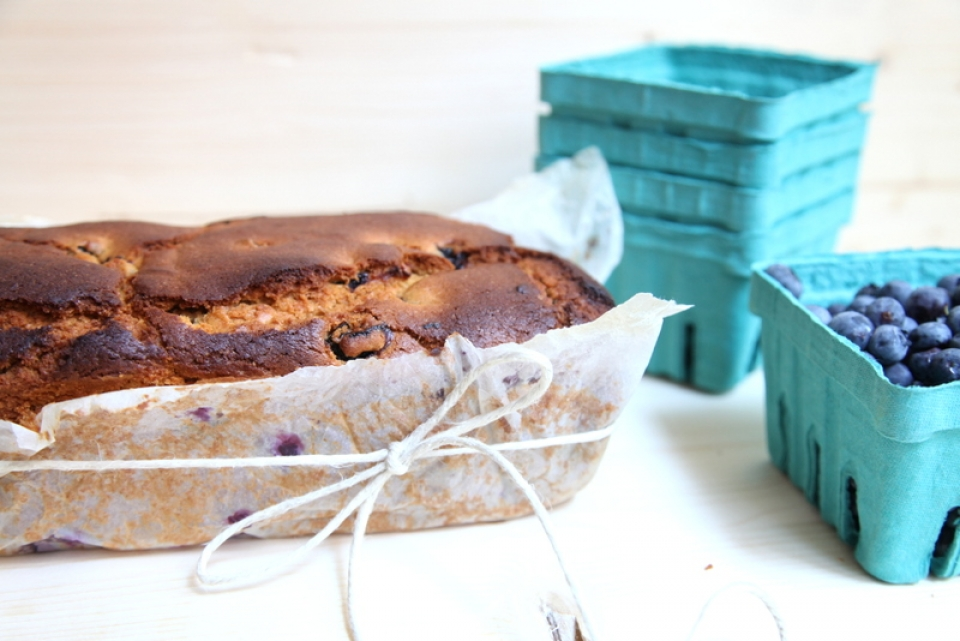 911  960x720 pici e castagne blueberry tea bread 7   Foto