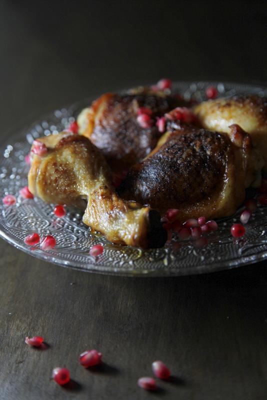 pici-e-castagne-pollo-glassato-al-melograno