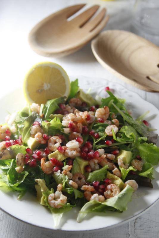 pici-e-castagne-insalata-di-gamberetti-avocado-e-melograno-3