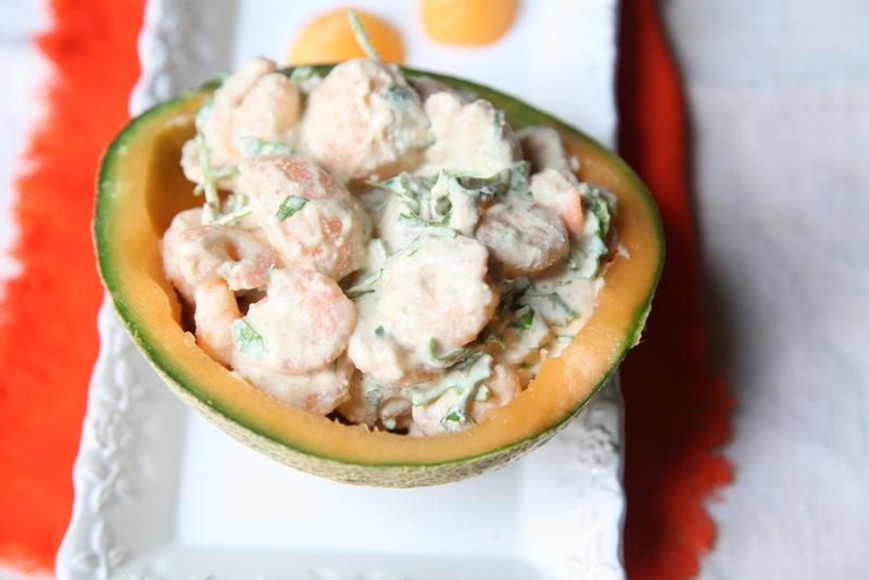 pici-e-castagne-insalata-di-gamberi-e-melone