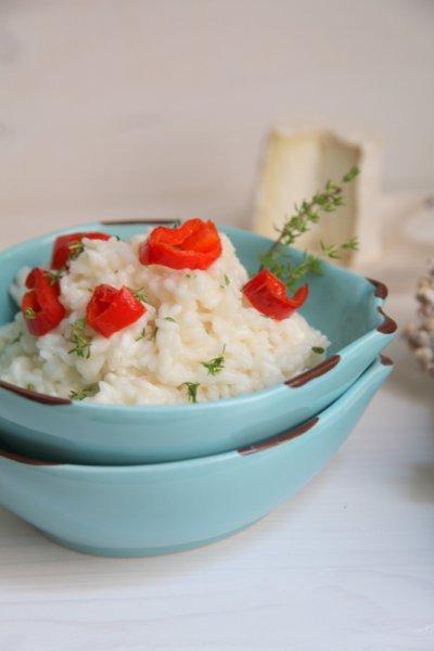 pici-e-castagne-risotto-con-chevre-peperoni-e-timo-11