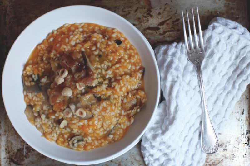 pici-e-castagne-risotto-zucca-nocciole-pancetta-e-funghi-2