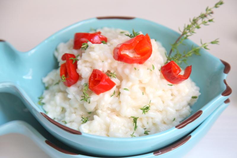 pici-e-castagne-risotto-con-chevre-peperoni-e-timo-9