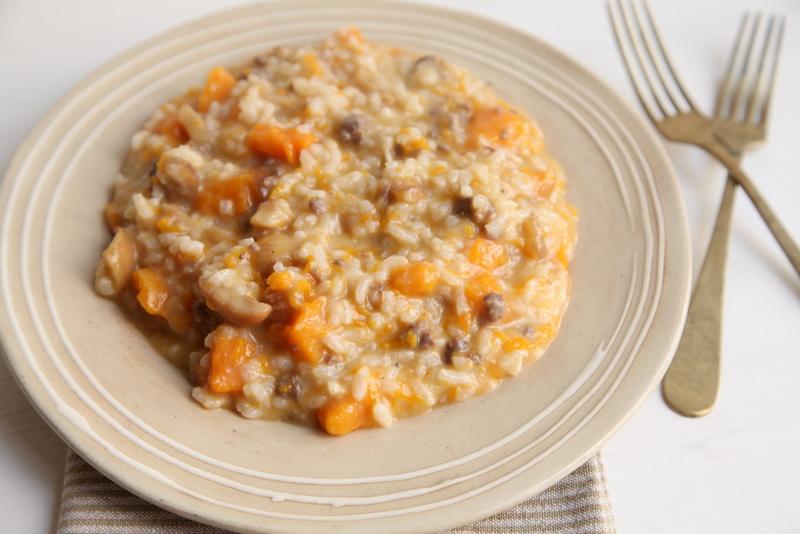 pici-e-castagne-risotto-zucca-castagne-salsiccia-3