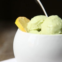 AVOCADO ICE CREAM... SENZA LATTOSIO!