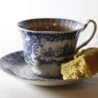 "<span class=""corsivo"">The Perfect Bite </span> : : SEMOLINA, COCONUT AND MARMALADE CAKE"