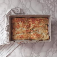 "<span class=""corsivo""> The Perfect Bite </span> : : CANNELLONI CON BROCCOLO SICILIANO E SALSICCIA"