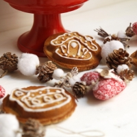 "<span class=""corsivo"">Christmas Favors </span> : : GINGERBREAD COOKIES"