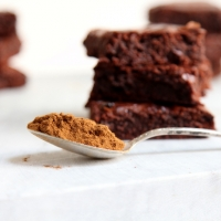 "<span class=""corsivo"">The Perfect Bite </span> : :  LIQUORICE BROWNIES"