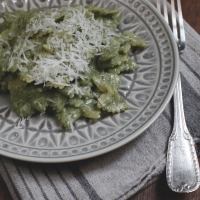 "<span class=""corsivo""> The Perfect Bite </span> : :  PASTA CON RICOTTA E SPINACI"