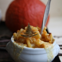 "<span class=""corsivo"">Comfort Food</span> : : PUMPKIN MAC AND CHEESE"