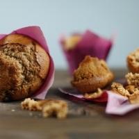 "<span class=""corsivo"">The Perfect Bite </span> : : MUFFIN CON FARINA DI CASTAGNE AL CAFFE'"
